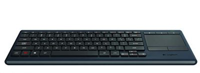 3. Logitech K830 Illuminated Living-Room Keyboard with Built-in Touchpad: