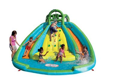 Little Tikes Rocky Mountain River Race Inflatable Slide Bouncer: