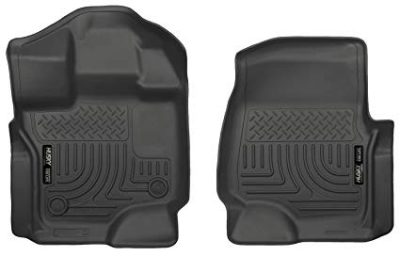 Husky Liners Front Floor Liners Fits 15-18 F150 SuperCrew/SuperCab: