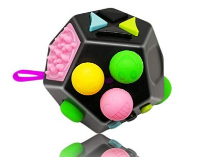 Fidget Cube 12 Sides Dodecagon Toy Stress and Anxiety Relief Relax for Children and Adults: