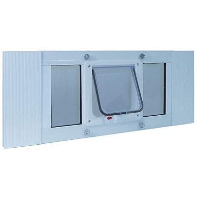 Ideal Pet Products Aluminum Sash Window Pet Door:
