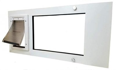 3. Patio Pacific Inc. Thermo Sash 2 with Small Plastic Pet Door: