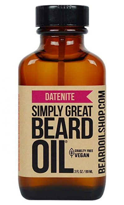 15. Simply Great Beard Oil - DATENITE Scented Beard Oil: