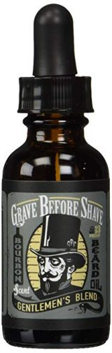 GRAVE BEFORE SHAVE™ Gentlemen's Blend Beard Oil (Bourbon/Sandal Wood Scent):