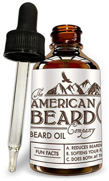 Beard Oil Growth Conditioner For Men - Best Mens Grooming Care and Softener by The American Beard Company: