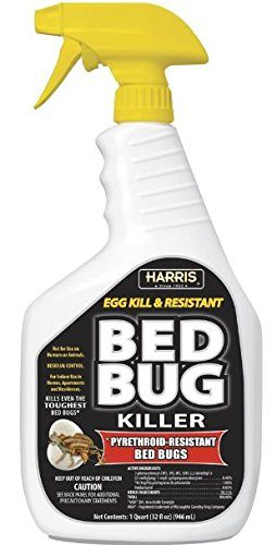 Harris   BLKBB-32 Bed Bug Killer, Quart (32oz), White: