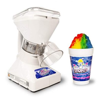 Little Snowie 2 Ice Shaver - Premium Shaved Ice Machine and Snow Cone Machine with Syrup Samples: