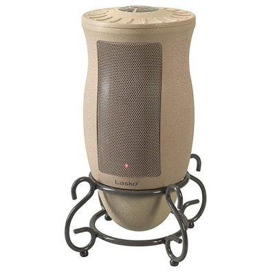 Lasko Designer Series Ceramic Space Heater-Features Oscillation, Remote, and Built-in Timer: