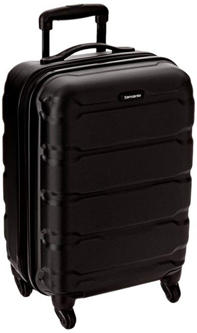 Samsonite Omni Pc Hardside Spinner 20, Black: