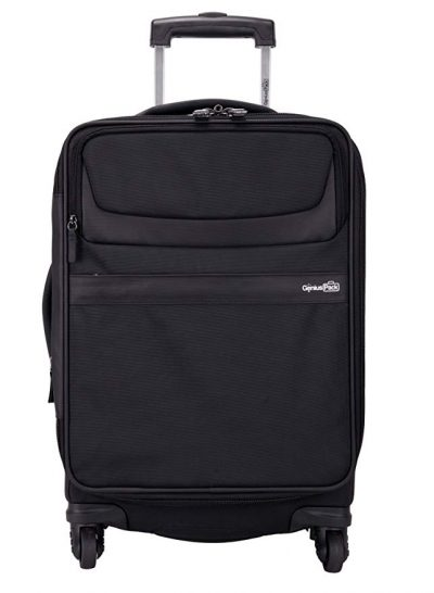 """Genius Pack G3 22"""" Carry On Spinner Luggage - Smart, Organized, Lightweight Suitcase (Navy):"""