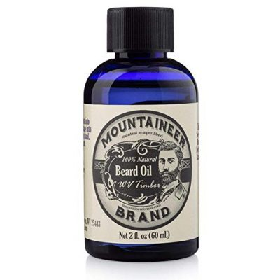 11. Beard Oil by Mountaineer Brand, WV Timber, Scented with Cedarwood and Fir Needle, Conditioning Oil, 2 oz bottle: