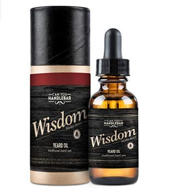 Can You Handlebar Wisdom Premium Beard Oil Bottle: Woodsy: