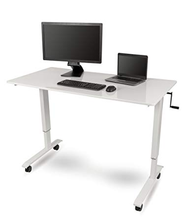 "12. 60"" Crank Adjustable Height Standing Desk by Stand Up Desk Store:"