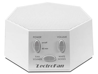 LectroFan High Fidelity White Noise Machine with 20 Unique Non-Looping Fan and White Noise Sounds and Sleep Timer, FFP by Adaptive Sound Technologies: