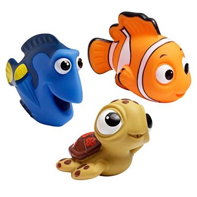 3. The First Years Disney Baby Bath Squirt Toys, Finding Nemo: