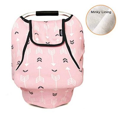 Stretchy Baby Car Seat Covers for Boys Girls by acelitor: