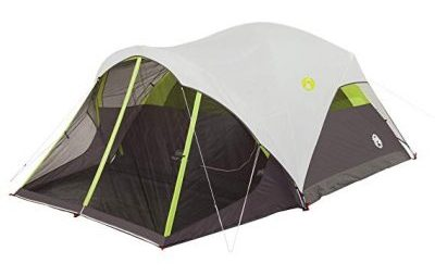 3. Coleman Steel Creek Fast Pitch Dome Tent with Screen Room, 6-Person: