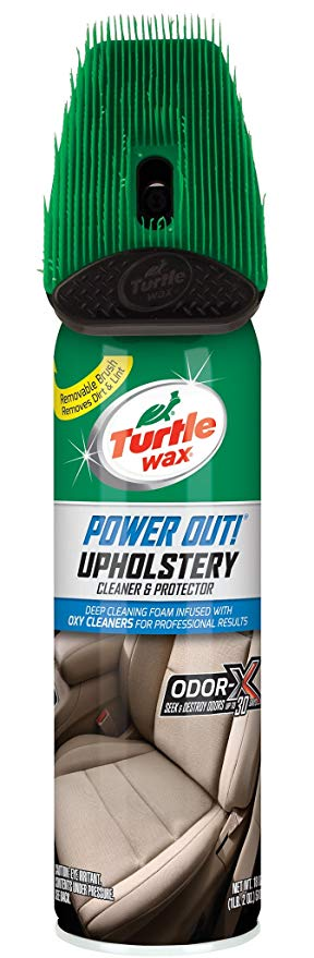 3. Turtle Wax T-246R1 Power Out! Upholstery Cleaner Odor Eliminator - 18 oz.: