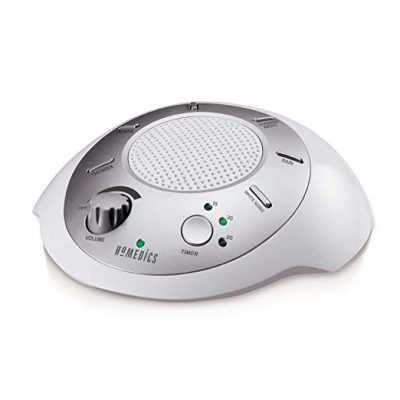 White Noise Sound Machine | Portable Sleep Therapy for Home, Office, Baby & Travel by Homedics:
