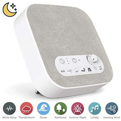 White Noise Machine for Sleeping, Aurola Sleep Sound Machine with Non-Looping Soothing Sounds for Baby Adult Traveler: