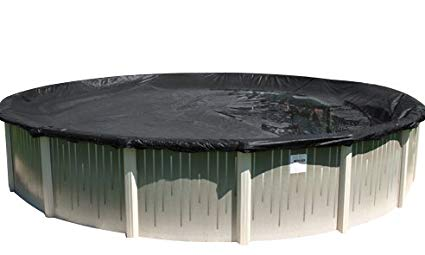 Buffalo Blizzard 24-Foot Round Winter Cover for Above-Ground Swimming Pools (Deluxe Plus):