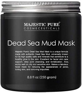 Majestic Pure Dead Sea Mud Mask for Face and Body: