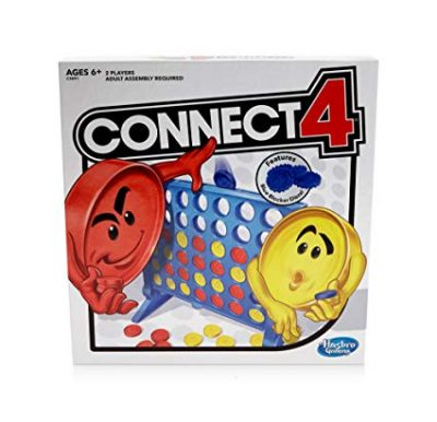 3. Connect 4 Strategy Board Game for Ages 6 and Up (Amazon Exclusive) by Hasbro: