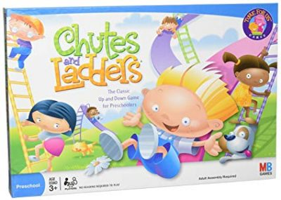 Chutes and Ladders Board Game for 2 to 4 Players Kids Ages 3 and Up (Amazon Exclusive):