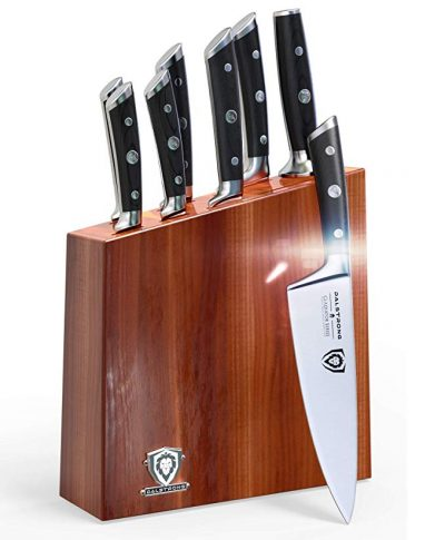 11. DALSTRONG Knife Set Block - Gladiator Series Knife Set - German HC Steel - 8 Pc: