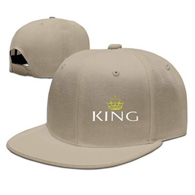 15. BSBEw Updated King and Queen Couple Lover Men Baseball Caps Snapback Hats Cool Hat: