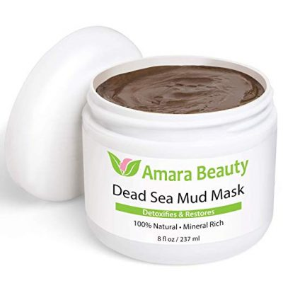 15. Dead Sea Mud Mask for Face & Body by Amara Beauty: