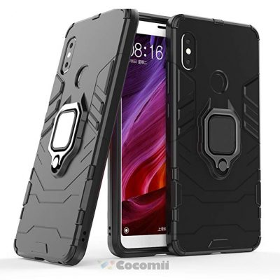 Cocomii Black Panther Armor Xiaomi Redmi Note 5/Note 5 Pro Case: