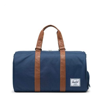 3. Herschel Novel Duffel Bag-Navy: