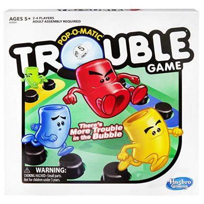 12. Trouble Game by Hasbro: