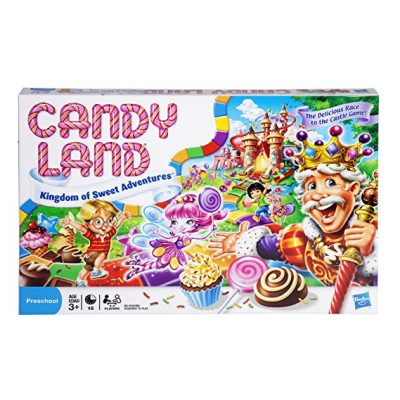 Hasbro 4700 Candy Land Kingdom of Sweet Adventures Board Game for Kids Ages 3 and Up: