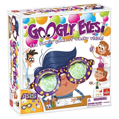 Googly Eyes Game — Family Drawing Game with Crazy, Vision-Altering Glasses by Goliath Games: