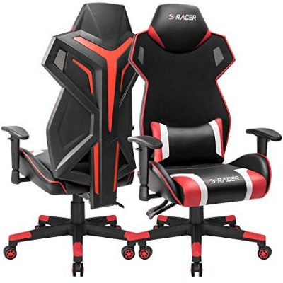16. Homall Gaming Chair Racing Style Office Chair High Back Computer Desk Chair: