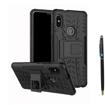Redmi Note 5 Pro Cover Hybrid DWaybox Rugged Heavy Duty Armor Hard Back Cover Case: