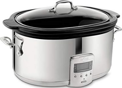 All-Clad SD700450 Programmable Oval-Shaped Slow Cooker: