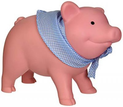 3. Schylling Rubber Piggy Bank: