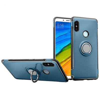 Xiaomi Redmi Note 6 Pro Case DWaybox Hybrid Back Case with 360 Degree Rotation Ring Holder: