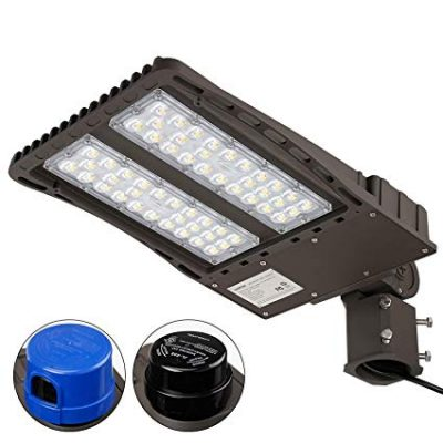 Ultra Bright LED Parking Lot Light with Photocell by LEONLITE:
