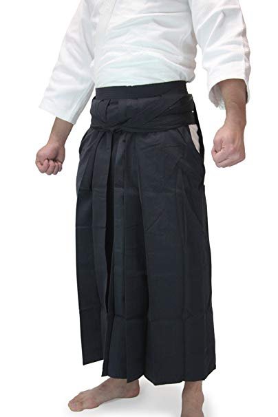 Tozando Deluxe Tetron Aikido Hakama - Made in Japan: