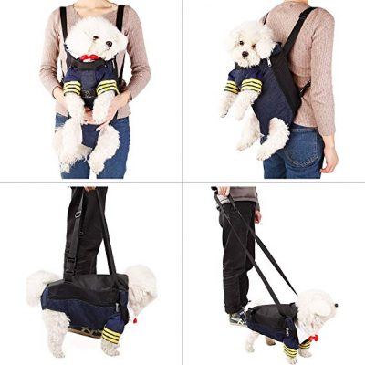 12. A4Pet Versatile Dog Carrier Backpack for Hiking, Camping, Bike Riding or Travel with Pet: