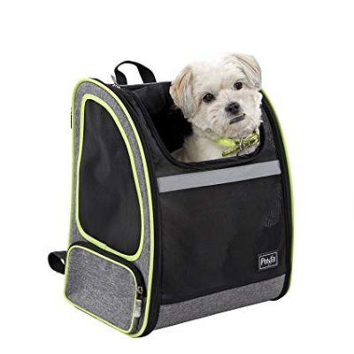 Petsfit Comfort Dogs Carriers Backpack,Fabric Pet Bag with Good Ventilation: