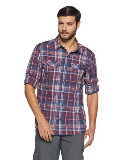 Columbia Men's Silver Ridge Plaid Long Sleeve Shirt: