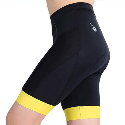 12. beroy Women Breathable Bike Shorts, Cycling Shorts with 3D Gel Pad: