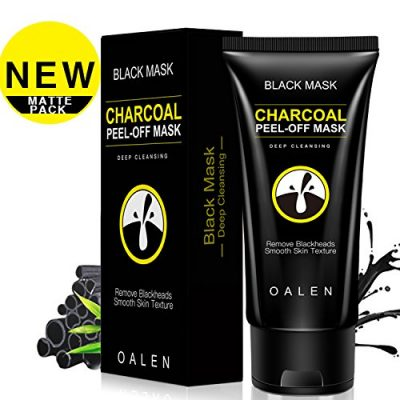 14. Natural Activated Charcoal Peel-Off Facial Mask by Boder: