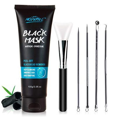 12. Black Mask-Blackhead Removal Mask Peel Off Facial Black Mask by POP MODERN.C:
