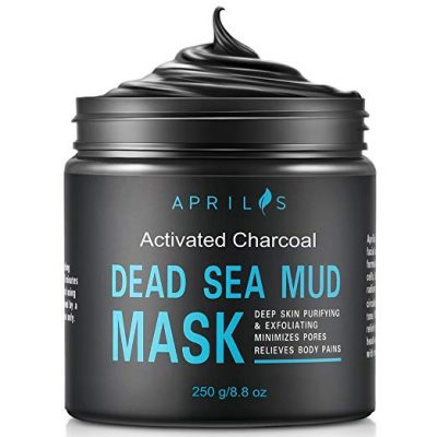 13. Dead Sea Mud Mask with Activated Charcoal by Aprilis: